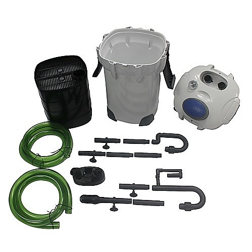 External canister filter pump for aquarium pond fish for Fish pond pump and filter system