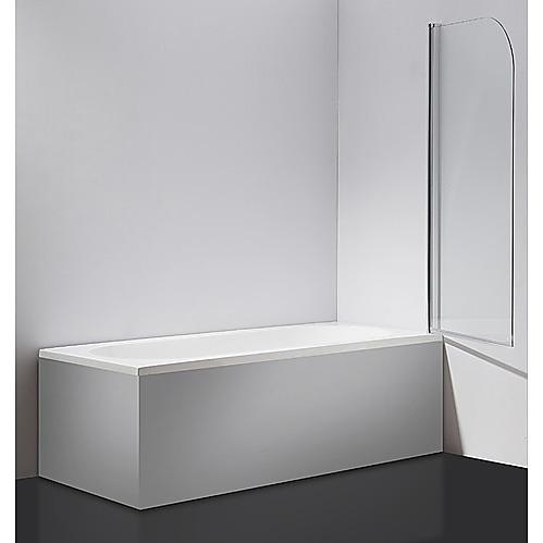 180 degree pivot door 6mm safety glass bath shower screen for 180 degree door swing