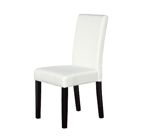 2 x premium fabric linen palermo dining chairs furniture for White fabric dining chairs