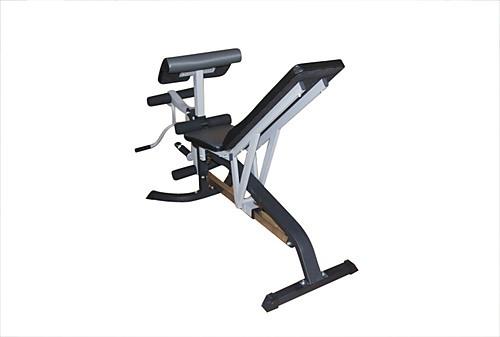 Fid flat incline decline bench press w leg extension ebay - Incline and decline bench press ...