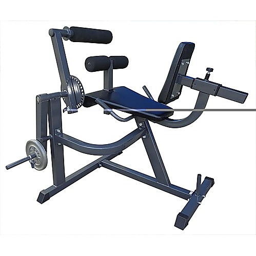 Leg Extension Leg Curl Combo Machine Adjustable Bench Weight Press Home Gym Ebay